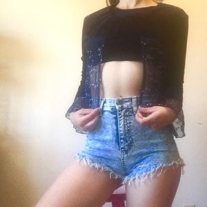 ONE OF A KIND: Crop top with Jacket